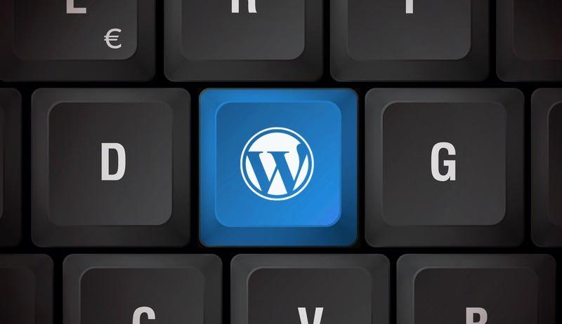 teclado wordpress